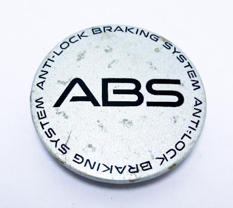 """Колпак колёсного диска б/у с надписью """"ABS"""" D=67мм"""