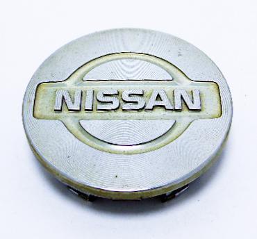 """Колпак колёсного диска б/у с эмблемой """"Nissan"""" D=56мм"""