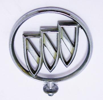 "Орнамент капота б/у ""Buick"" хром без базы"