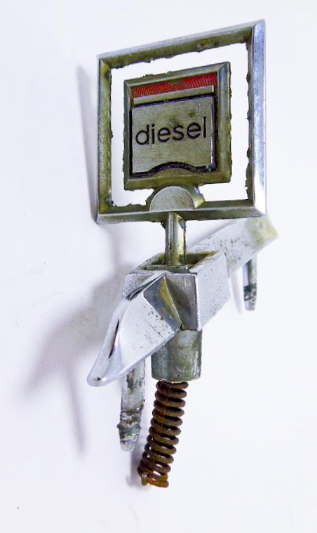 """Орнамент капота б/у """"Diesel"""" с базой"""